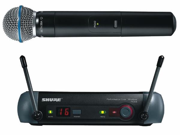 Микрофон Shure Pgx24/BETA58