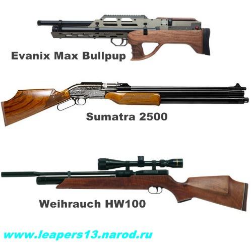 Пневматические винтовки для