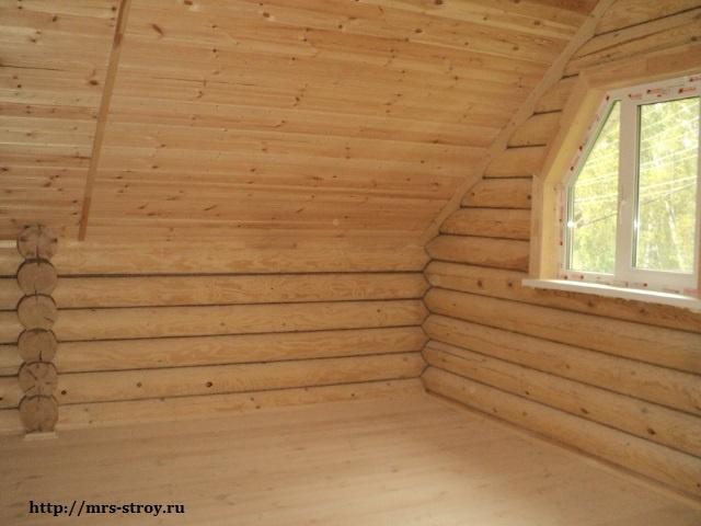 внешняя отделка деревянного дома: