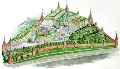 В 1990 году Кремль включен в