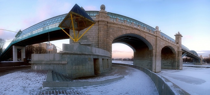 Переехавший андреевский мост