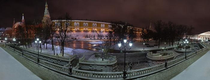 Панорама александровского сада