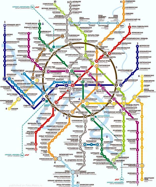 семь новых станций метро,