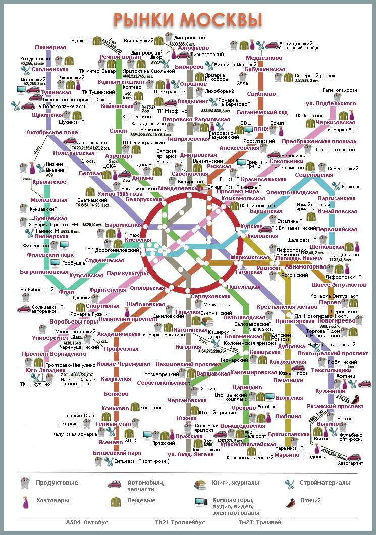 схема движения наземного транспорта москвы
